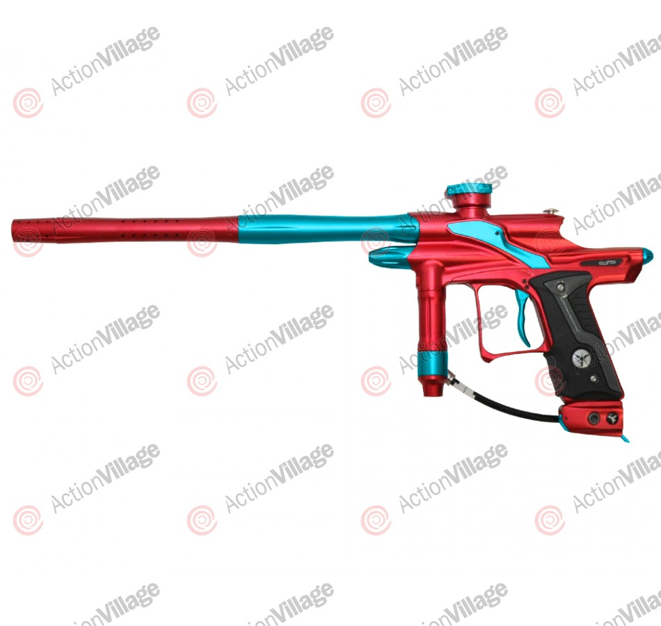 Dangerous Power Fusion FX Paintball Gun - Red/Teal
