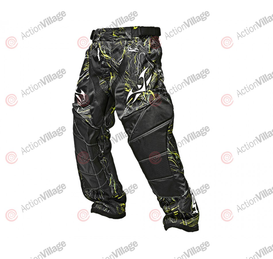 2012 Valken Crusade Paintball Pants - Static Yellow
