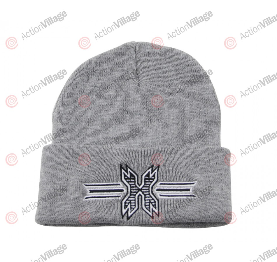 HK Army Icon Beanie - Grey/Black Stitch
