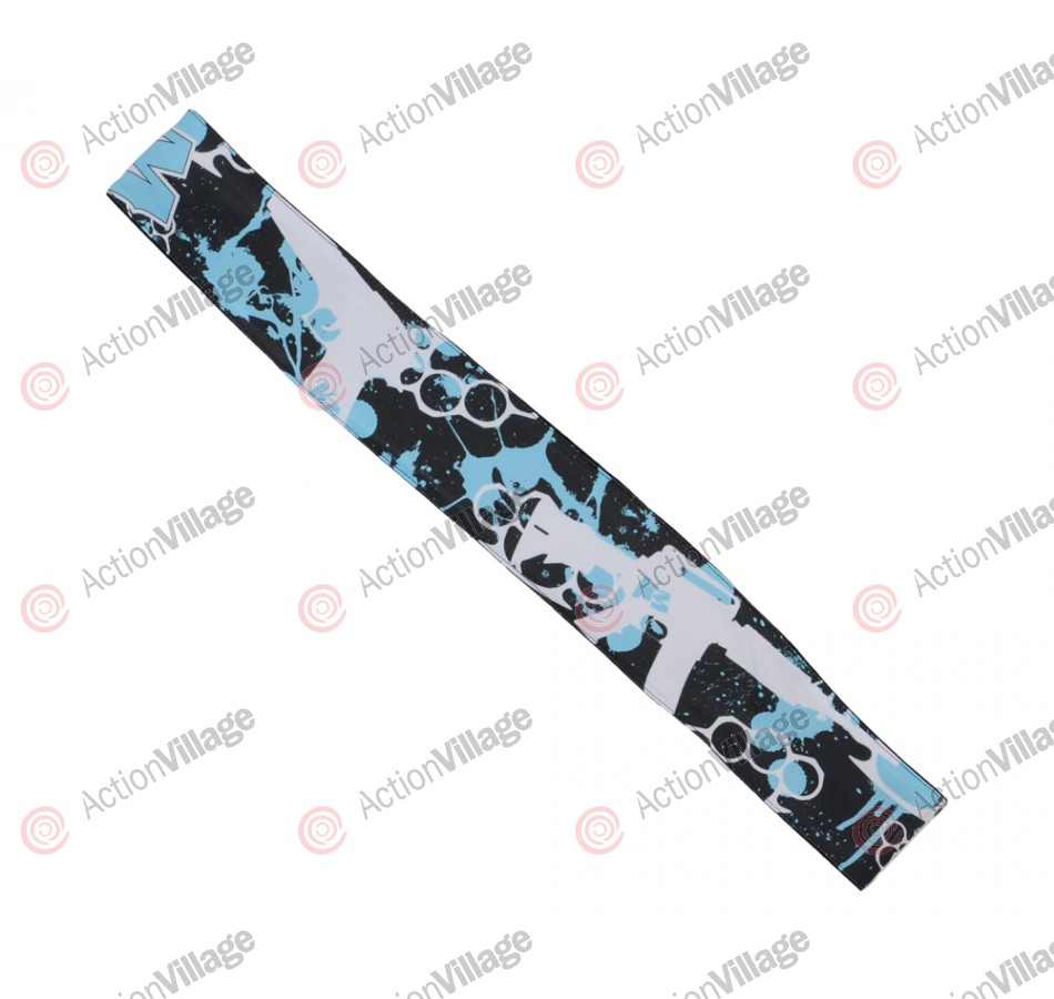 KM Paintball Headband - Knuckles Negative