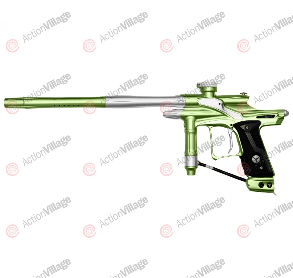Dangerous Power Fusion FX Paintball Gun - Neon Green/White