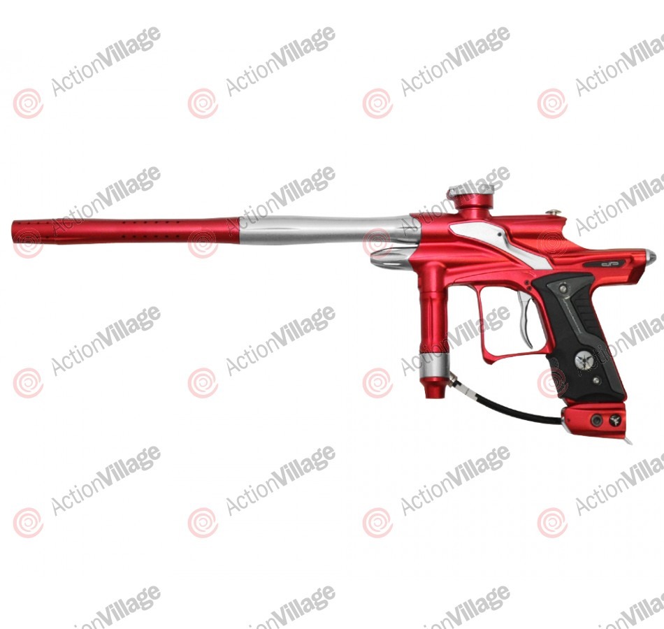 Dangerous Power Fusion FX Paintball Gun - Red/White