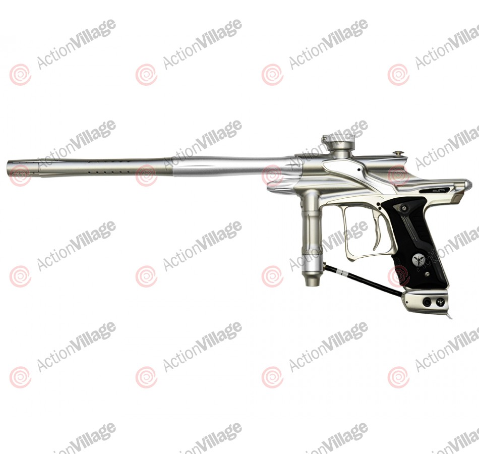 Dangerous Power Fusion FX Paintball Gun - Silver/White