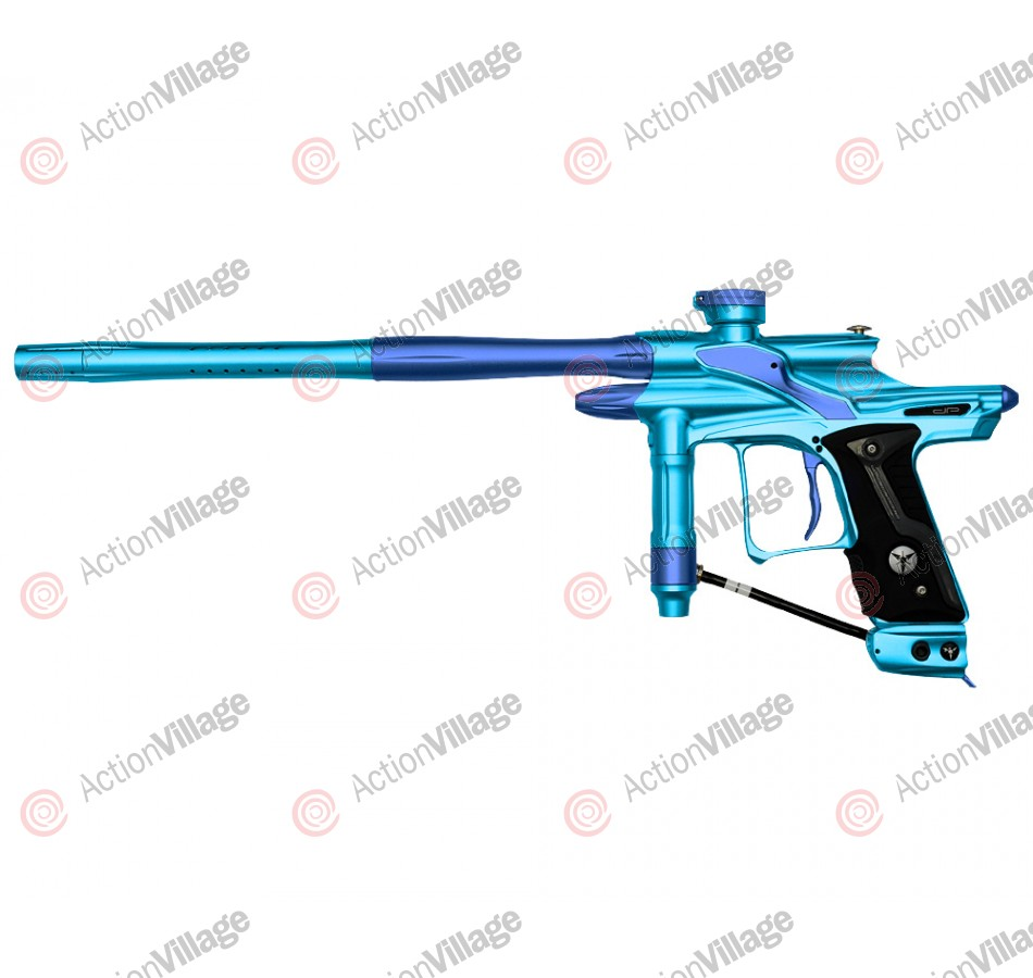 Dangerous Power Fusion FX Paintball Gun - Teal/Blue