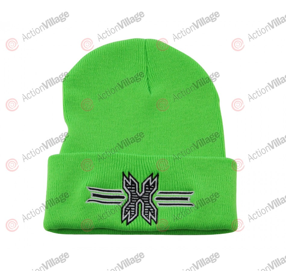 HK Army Icon Beanie - Lime Green/Black Stitch