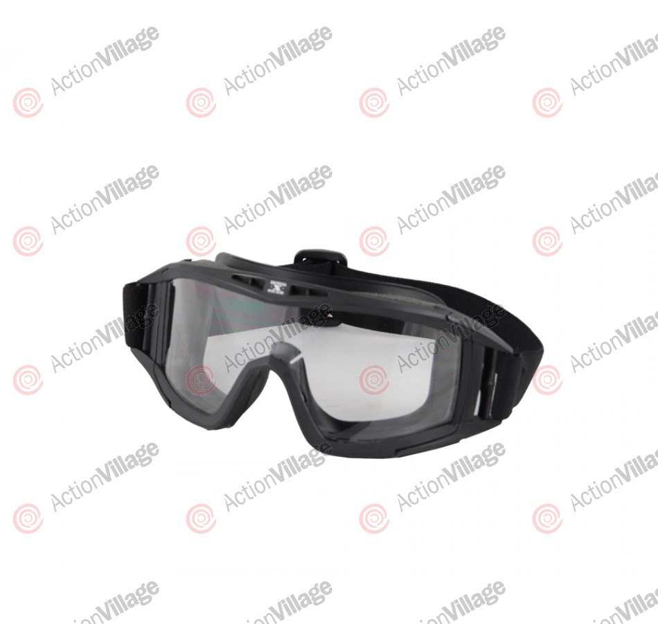 Gen X Global Tactical Airsoft Goggle - Black