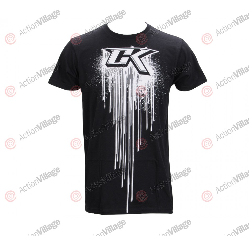 Contract Killer Drip T-Shirt - Black