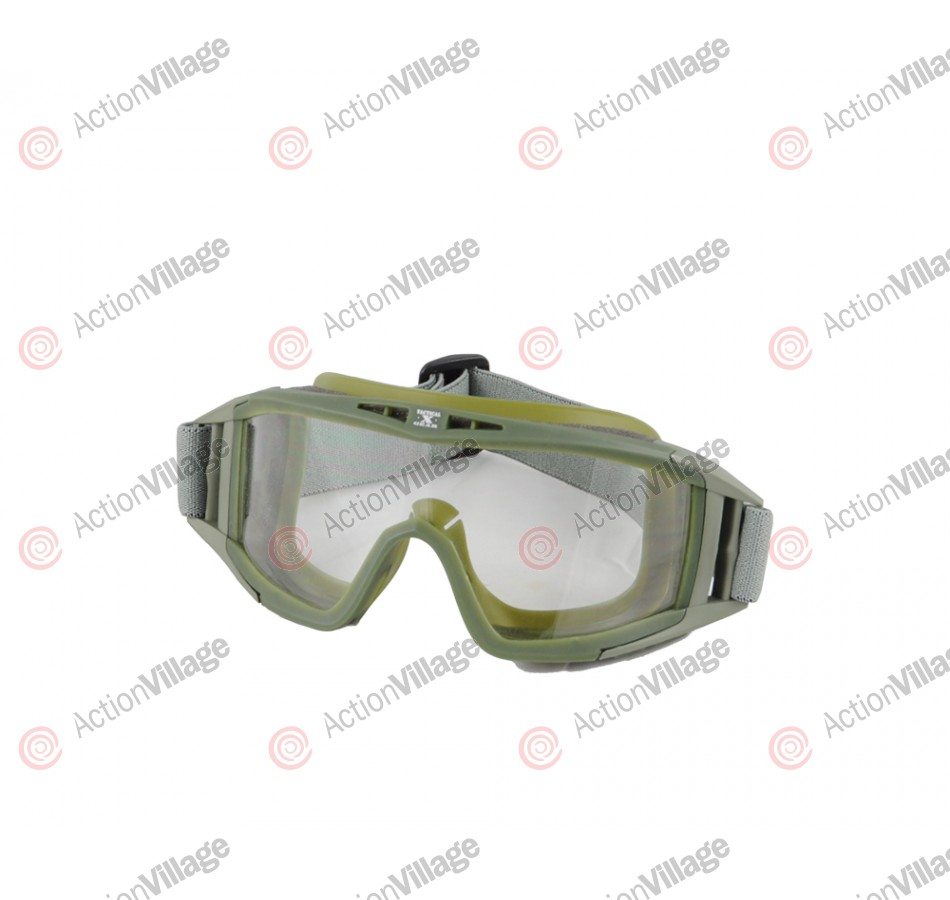 Gen X Global Tactical Airsoft Goggle - Olive