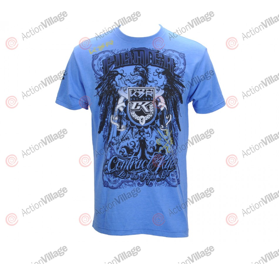 Contract Killer Walk Out T-Shirt - Blue
