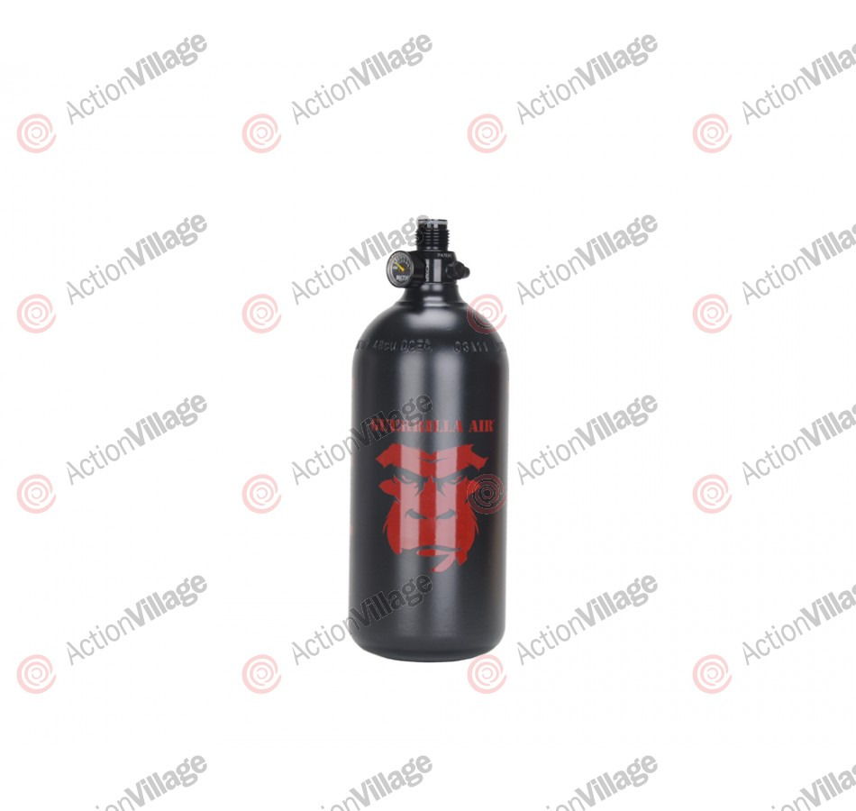 Guerrilla Air Compressed Air Tank W/ Myth Regulator 48/3000 - Black