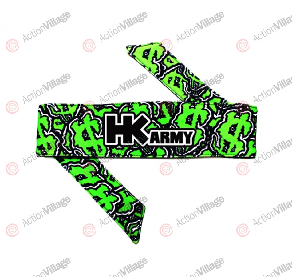 HK Army Headband - HK Dirty Money