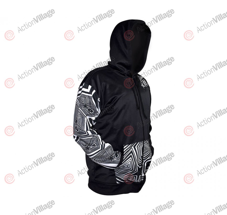 Planet Eclipse Men's Maze Hooded Sweatshirt - Black
