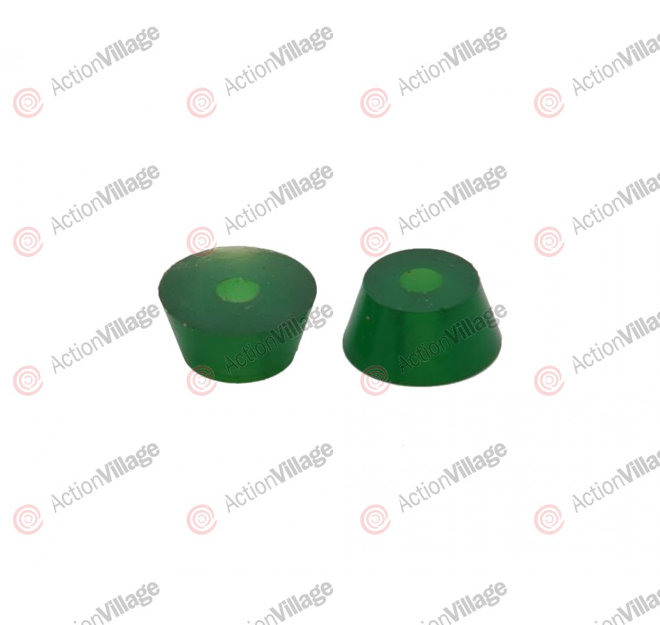 Tracker Trucks Fastrack Cushions - 85a - Green - Skateboard Bushings