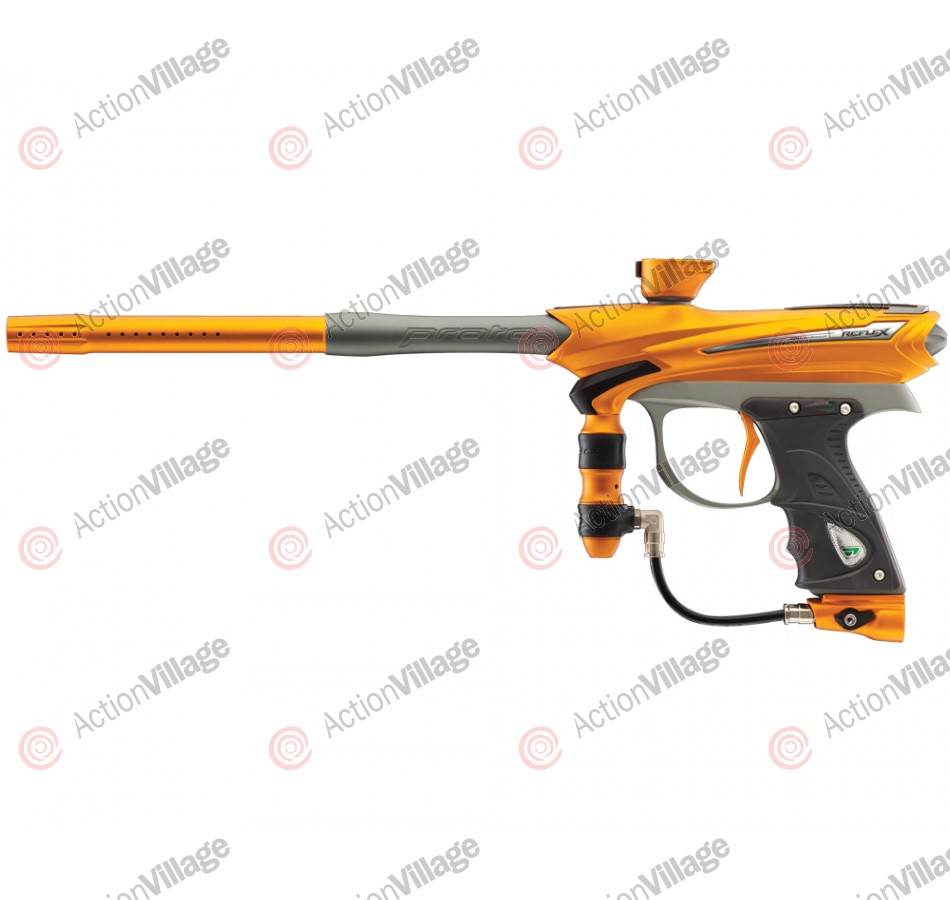 2013 Proto Reflex Rail Paintball Gun - Orange/Graphite