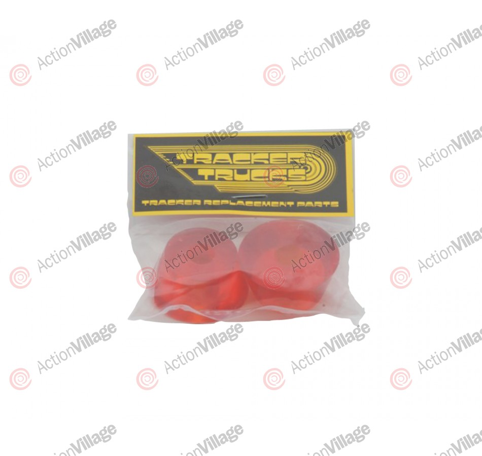 Tracker Trucks Fastrack Cushions - 80a - Orange - Skateboard Bushings