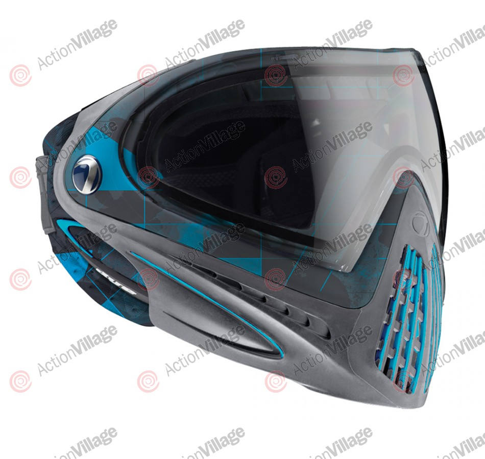 2013 Dye Invision Goggle I4 Pro Mask - Atlas Blue