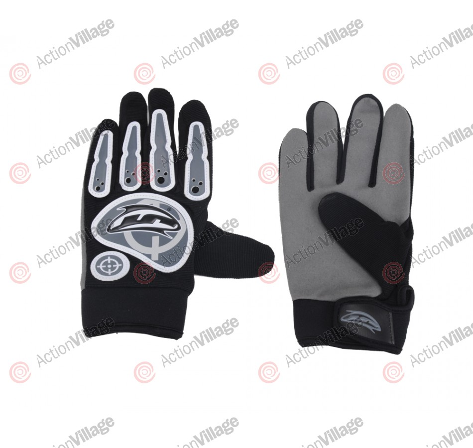 JT Power Paintball Gloves - Black