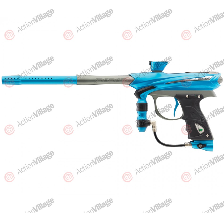 2013 Proto Reflex Rail Paintball Gun - Teal/Graphite