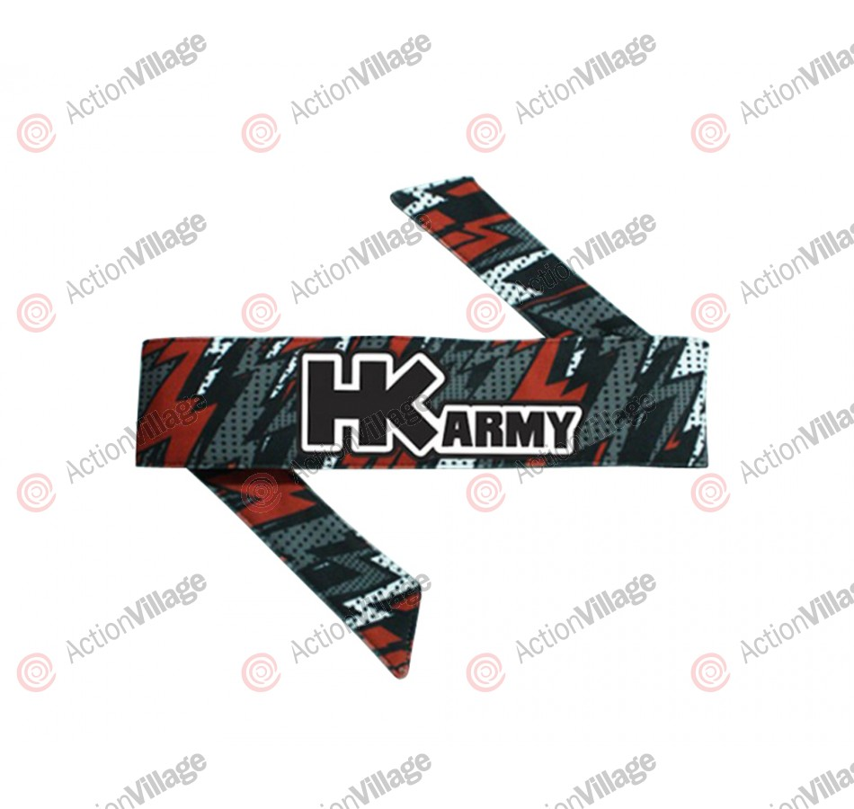 HK Army Headband - HK Boltz Red
