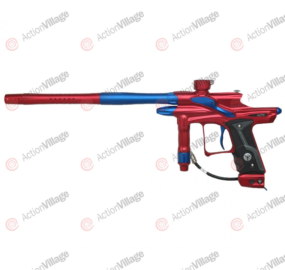 Dangerous Power Fusion FX Paintball Gun - Red/Blue