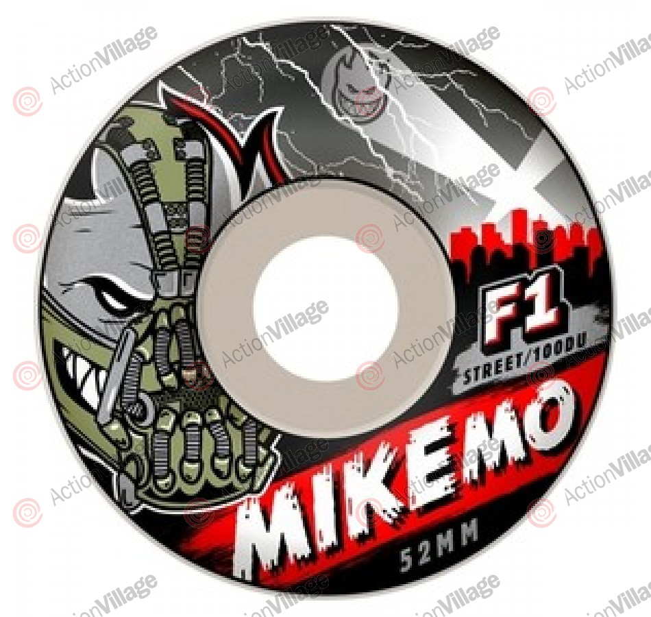 Spitfire Wheels F1SB Mike Mo Villian - 52mm - Skateboard Wheels