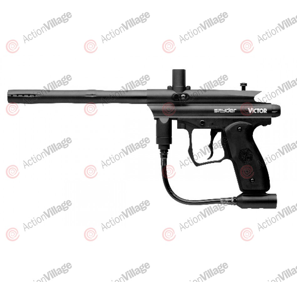 Kingman Spyder Victor Paintball Gun - Black