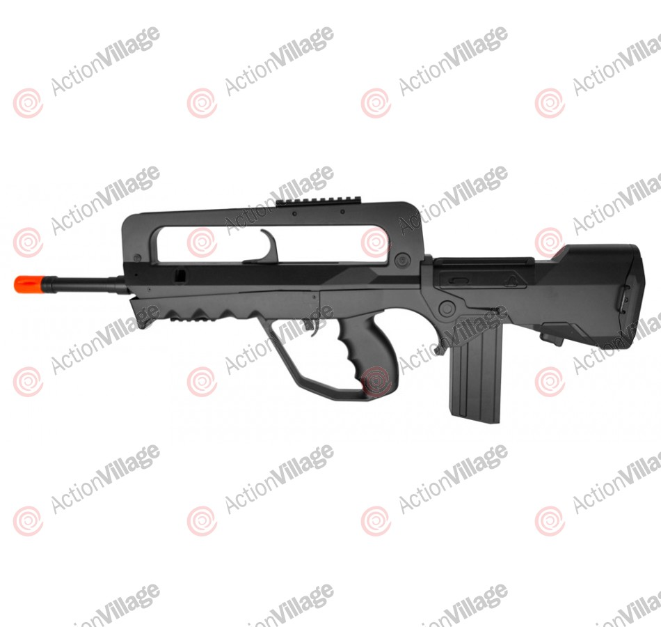 FAMAS Foreign Legion Spring Airsoft Rifle - Black