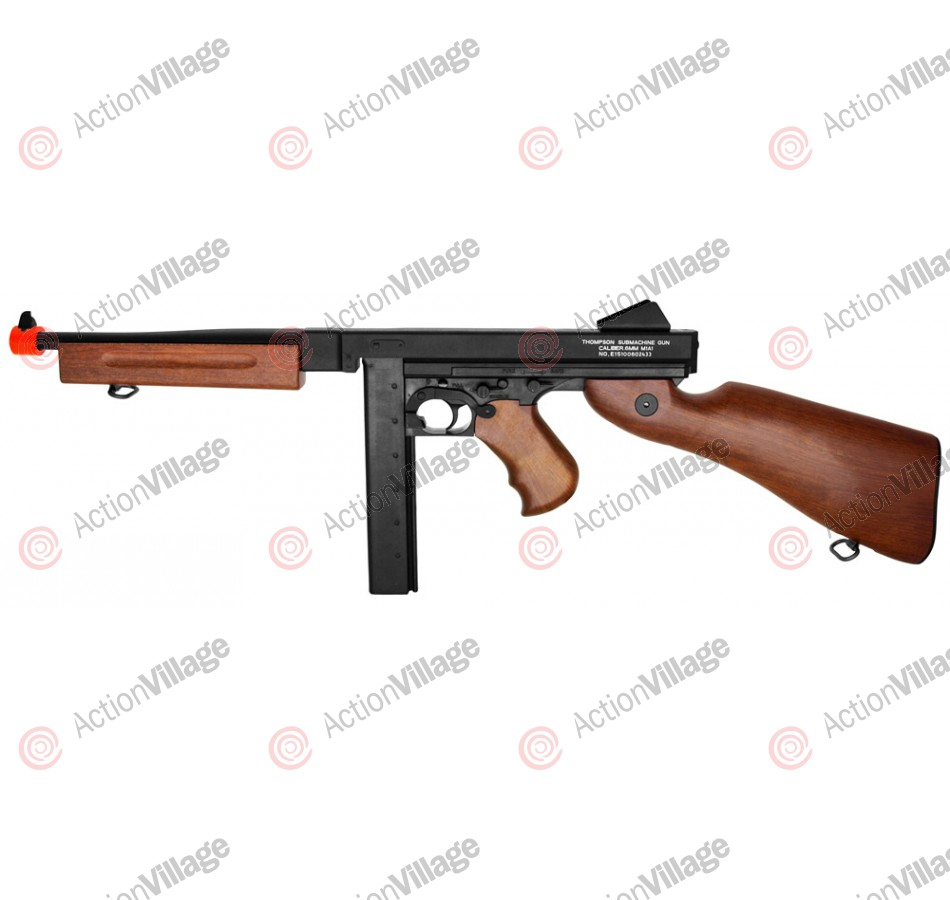 King Arms Thompson M1A1 Electric Airsoft Submachine Gun