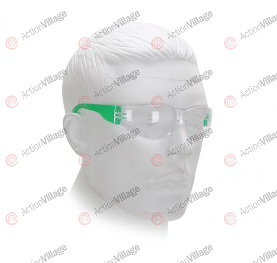 Airsoft Starlite Small Gumball Safety Glasses - Green