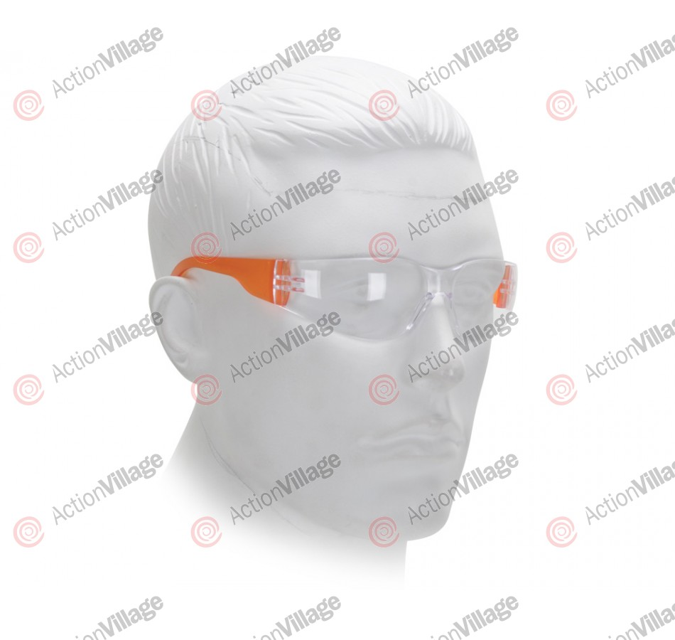 Airsoft Starlite Small Gumball Safety Glasses - Orange
