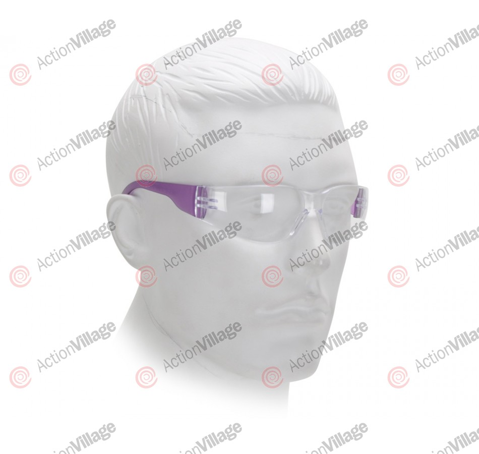 Airsoft Starlite Small Gumball Safety Glasses - Purple