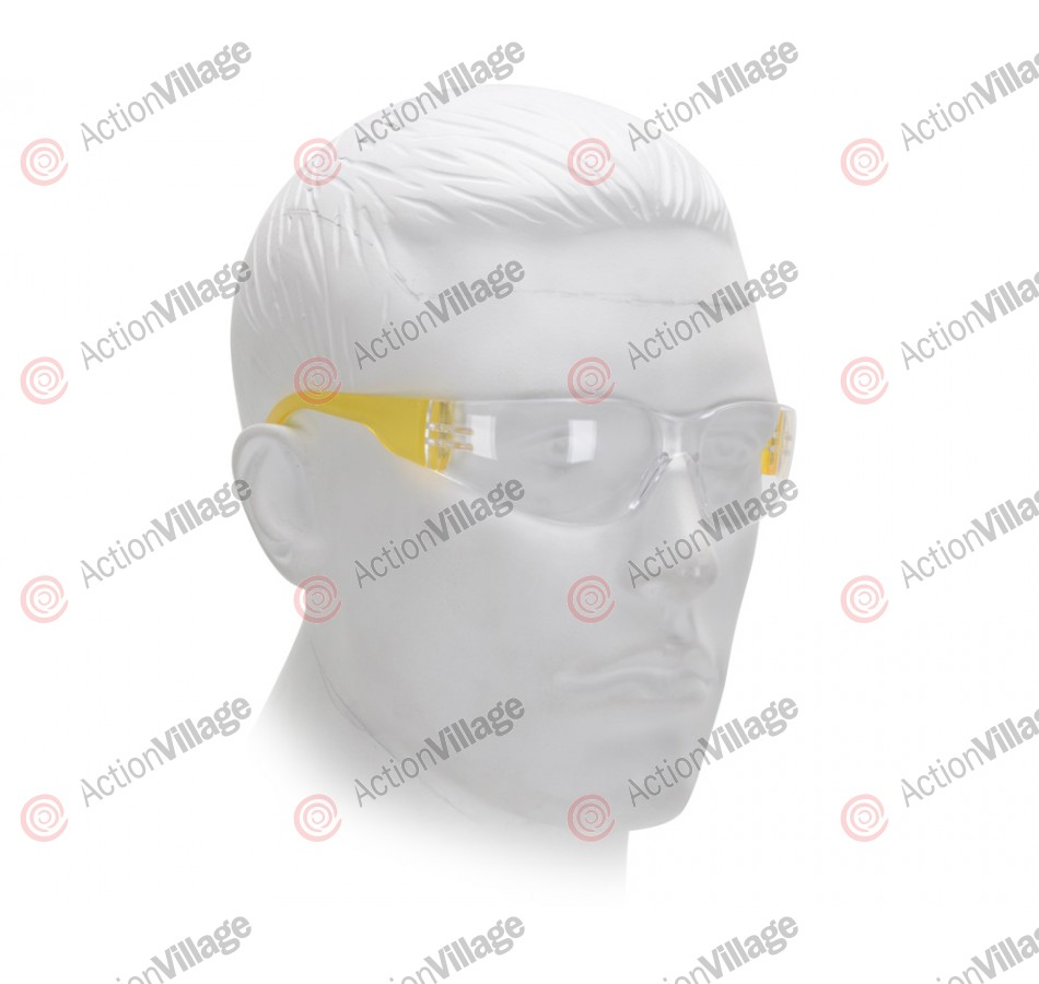 Airsoft Starlite Small Gumball Safety Glasses - Yellow