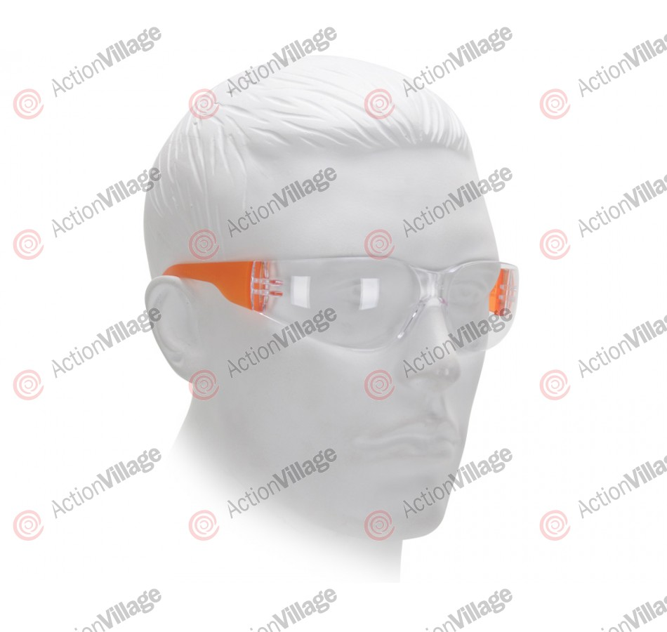Airsoft Starlite Gumball Safety Glasses - Orange