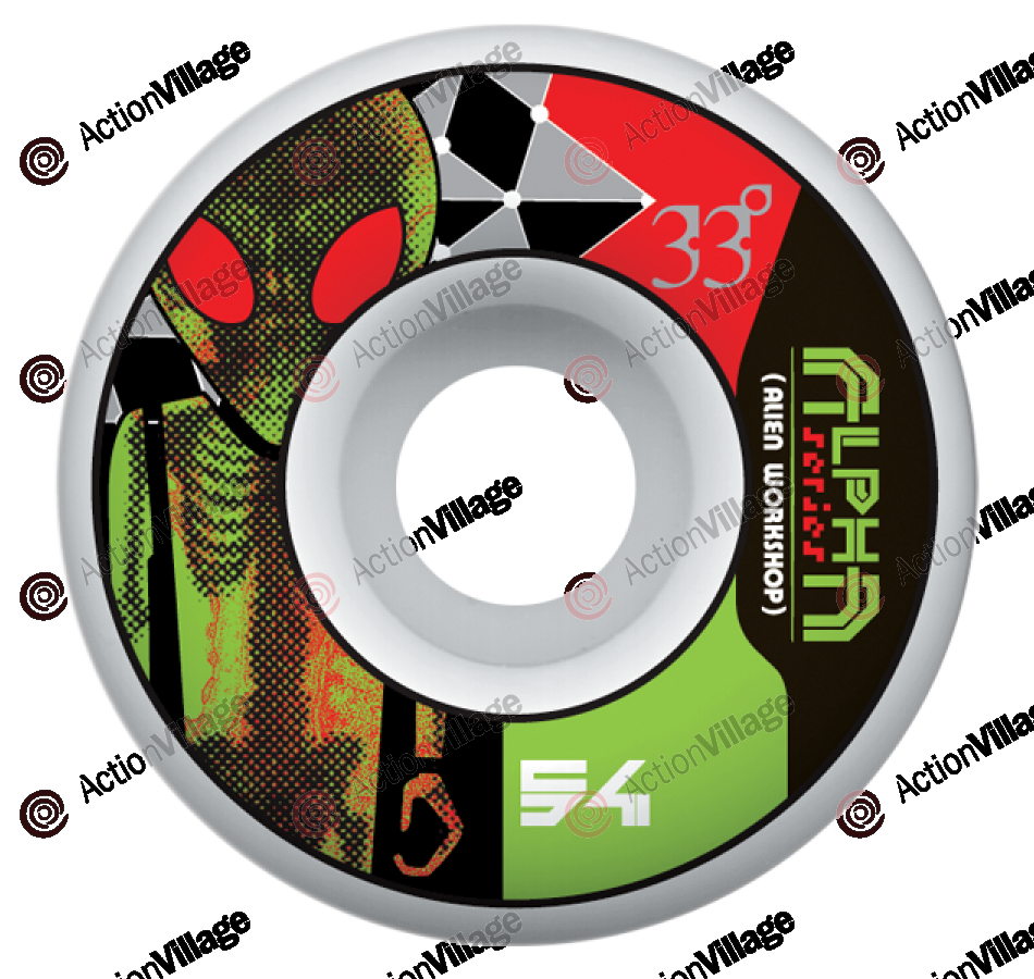 Alien Workshop Alpha - 54mm - Skateboard Wheels
