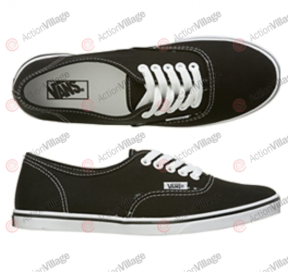 Van's Authentic - Men's Shoes - Lo Pro Black/ True White