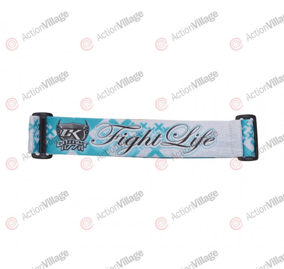 KM Paintball Goggle Strap - 09 Fight Life