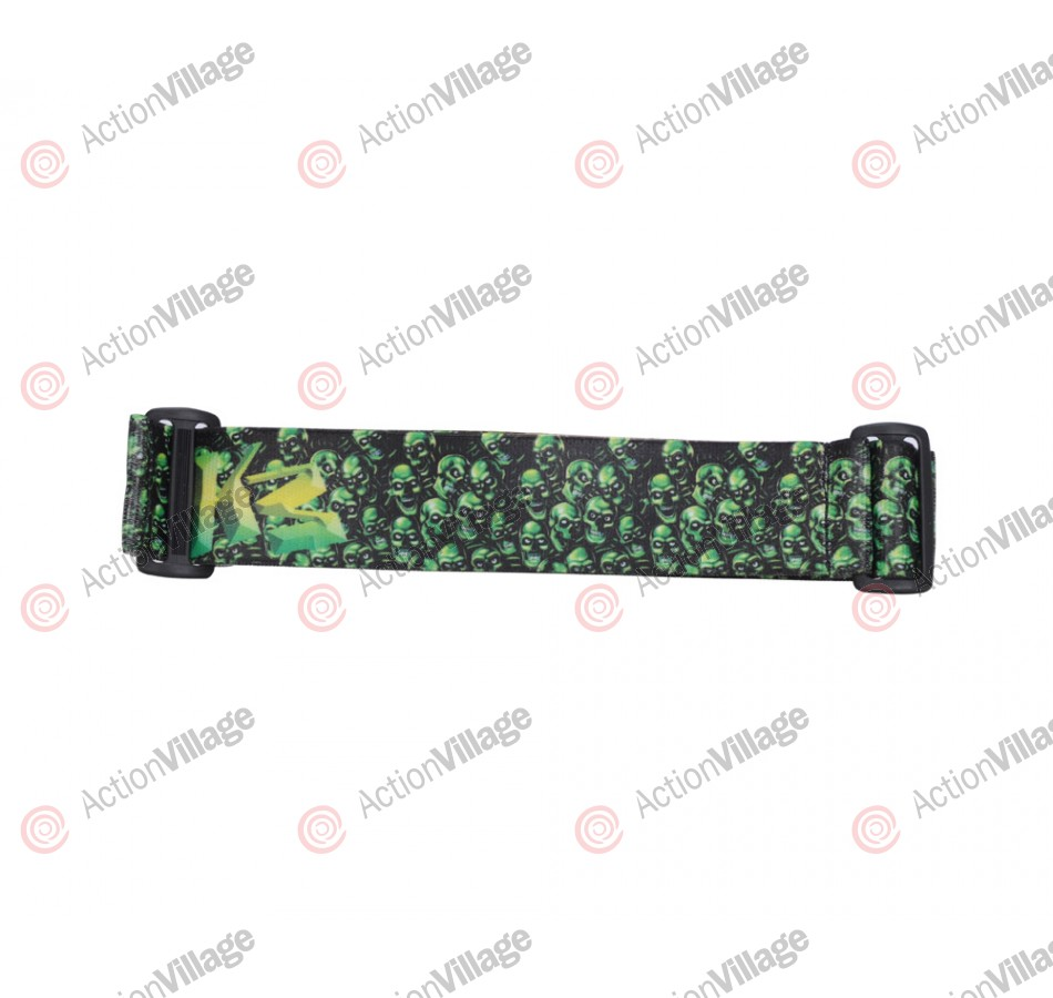 KM Paintball Goggle Strap - 09 Laughing Bones