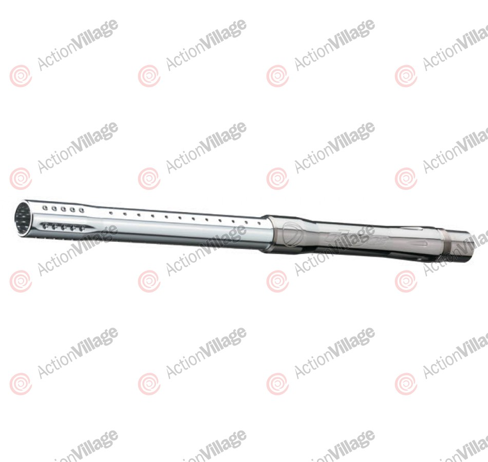 Dye 2 Piece Boomstick Paintball Barrel - Dust Silver