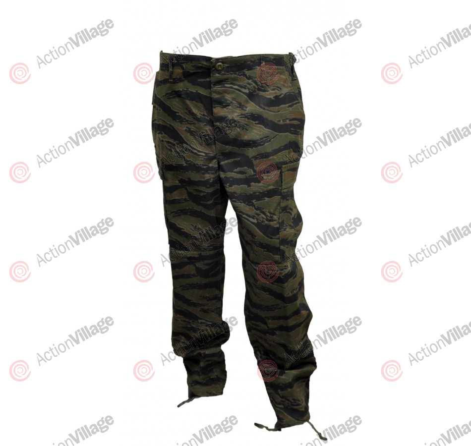 BDU Pants - Tiger Camo