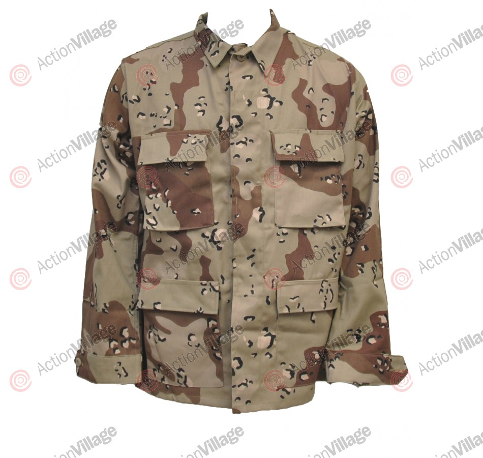 BDU Propper Jacket - 6 Color Desert Camo