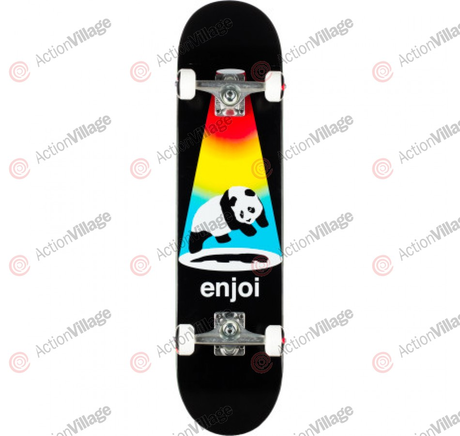 Enjoi Abduction - Black - 7.6 - Complete Skateboard