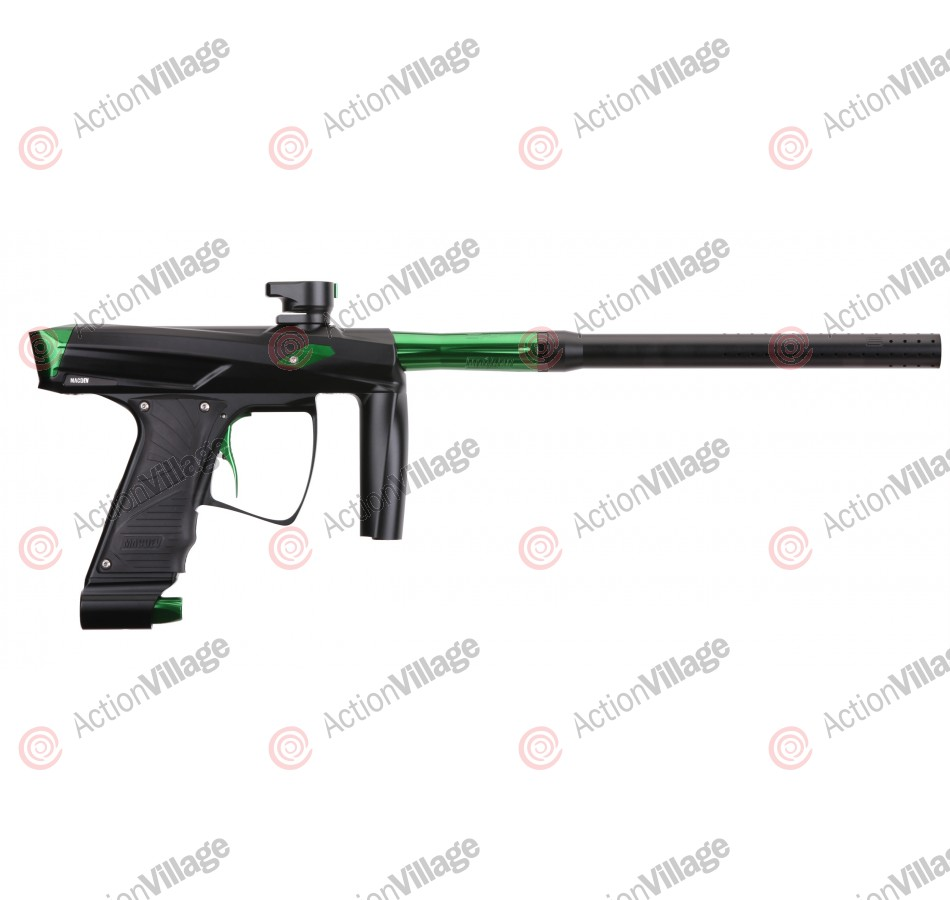 MacDev Clone GT Paintball Gun - Black/Lime