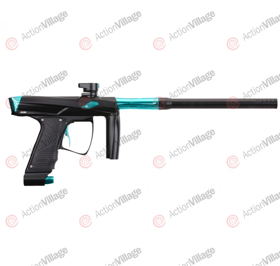 MacDev Clone GT Paintball Gun - Black/Aqua
