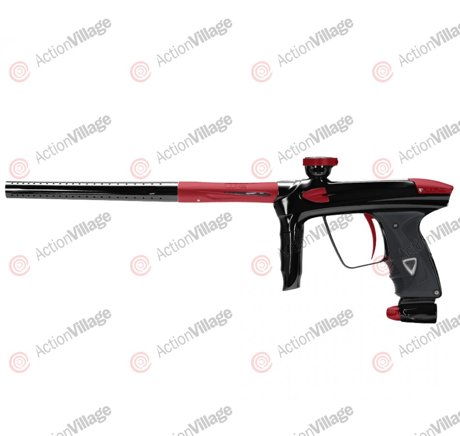 DLX Luxe 2.0 Paintball Gun - Black/Dust Red