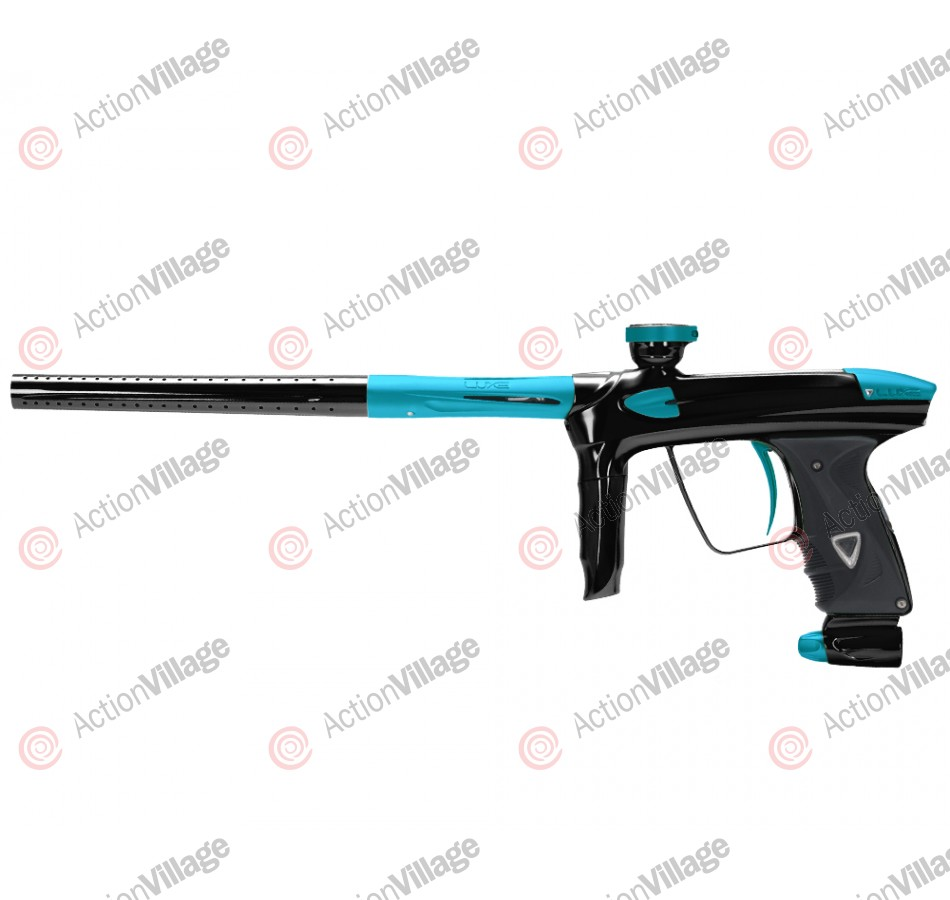 DLX Luxe 2.0 Paintball Gun - Black/Dust Teal
