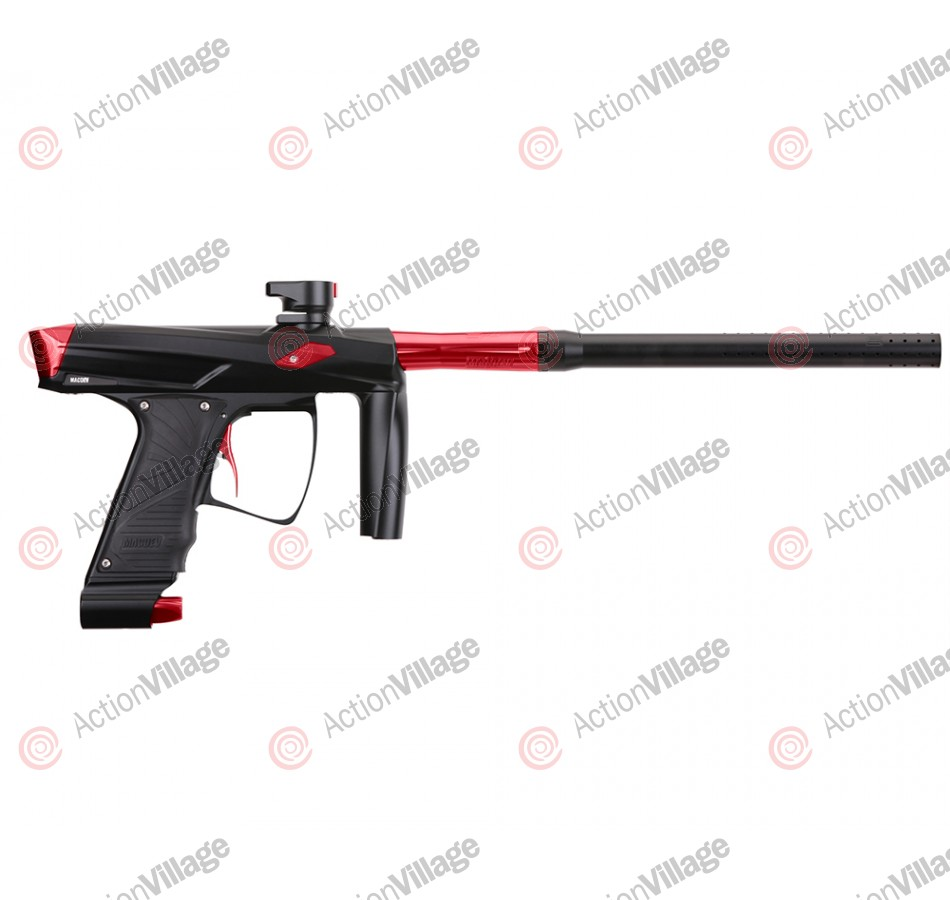 MacDev Clone GT Paintball Gun - Black/Red