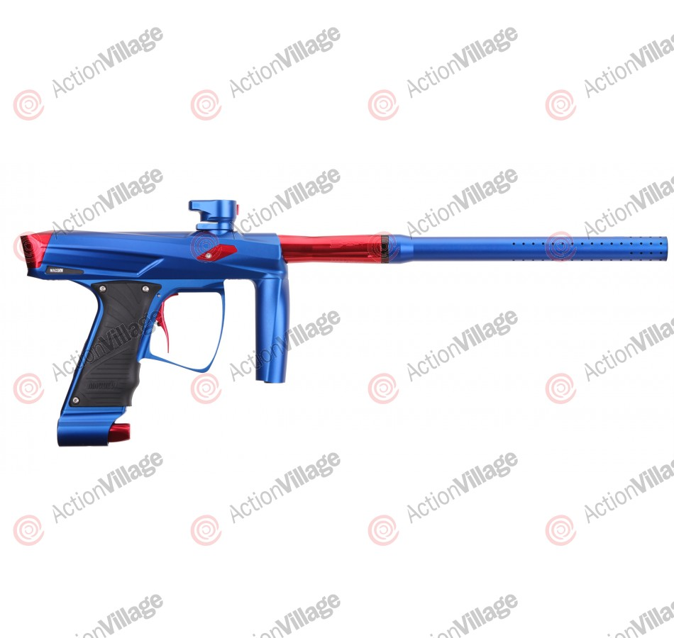 MacDev Clone GT Paintball Gun - Blue/Red
