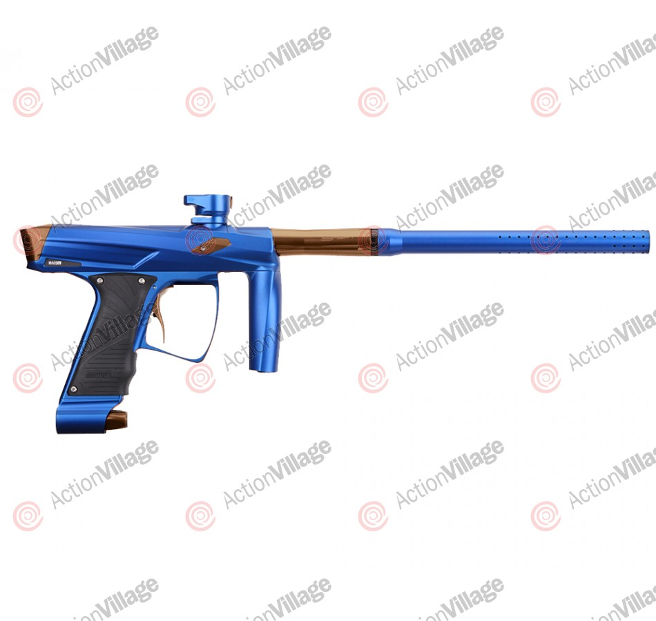 MacDev Clone GT Paintball Gun - Blue/Lime