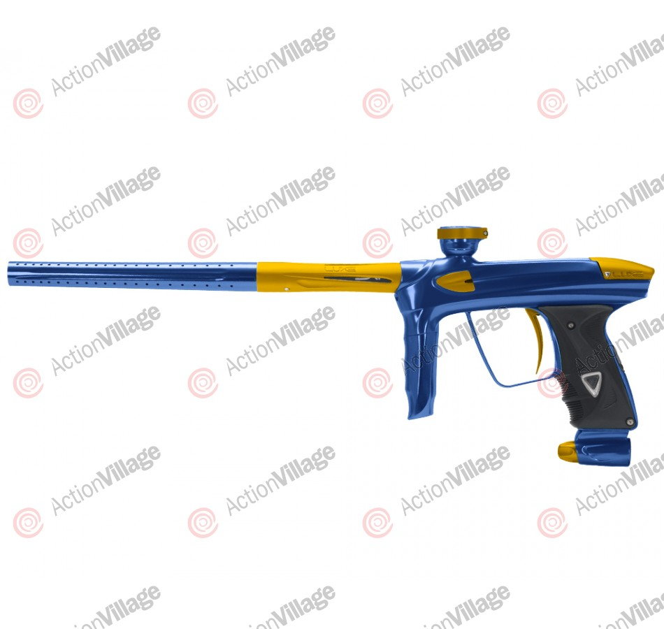 DLX Luxe 2.0 Paintball Gun - Blue/Dust Gold