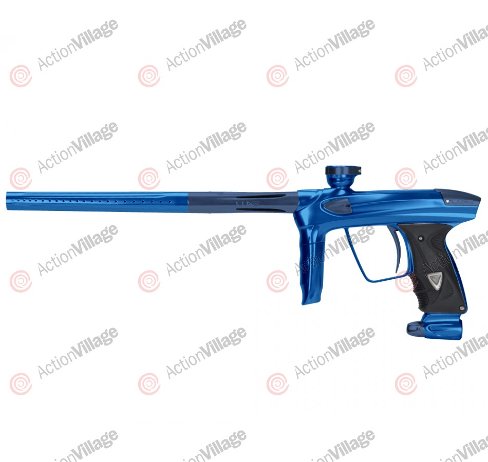DLX Luxe 2.0 Paintball Gun - Blue/Gun Metal